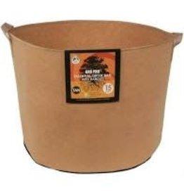 Gro Pro Gro Pro Essential Round Fabric Pot w/ Handles 15 Gallon - Tan