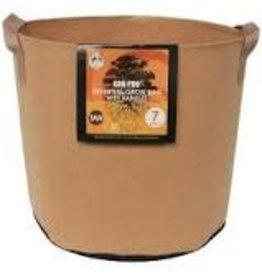 Gro Pro Gro Pro Essential Round Fabric Pot w/ Handles 7 Gallon - Tan