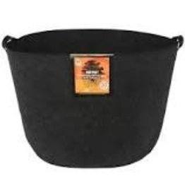 Gro Pro Gro Pro Essential Round Fabric Pot w/ Handles 30 Gallon - Black