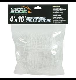 Growers Edge Grower's Edge Commercial Grade Trellis Netting 4 ft x 16 ft