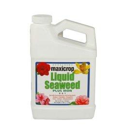 Maxicrop Maxicrop Liquid Seaweed Plus Iron, 1 qt