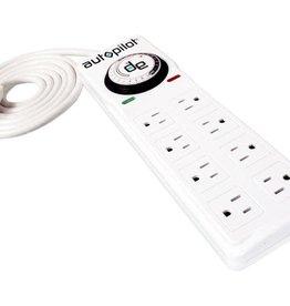Autopilot Autopilot Surge Protector / Power Strip with 8 outlets & timer