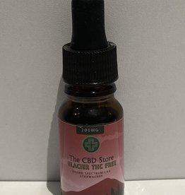 The CBD Store Glacier Broad Spectrum CBD Oil (10ml, 200mg) - Strawberry