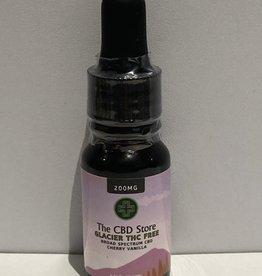 The CBD Store Glacier Broad Spectrum CBD Oil (10ml, 200mg) - Cherry Vanilla