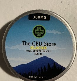 The CBD Store Glacier Full Spectrum CBD Balm (300mg, 0.5oz)