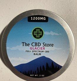 The CBD Store Glacier Full Spectrum CBD Balm (1200mg, 2oz)