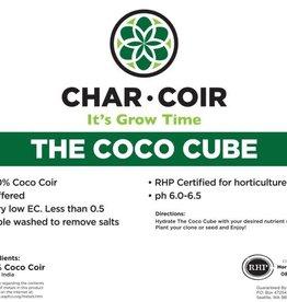 Char Coir Char Coir Coco Cube RHP Certified Coco Coir, 2.25 L