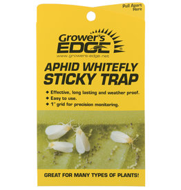Growers Edge Growers Edge Yellow Sticky Trap Aphid Whitefly Traps 5 pack