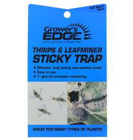 Growers Edge Growers Edge Blue sticky Traps for Thrips and Leaf Miners, 5 Pack