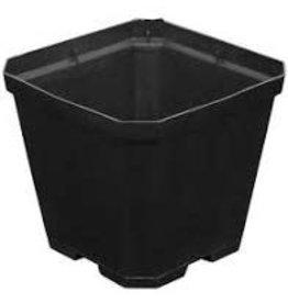 Gro Pro Gro Pro Black Plastic Pot 4 in x 4 in x 3.5 in