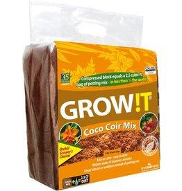 Grow!t GROW!T Organic Coco Coir Mix, Block