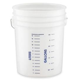 Uline Graduated Mixing Bucket, 5 Gallon