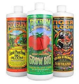 FoxFarm FoxFarm Soil Formula Nutrients Trio, 3 qts