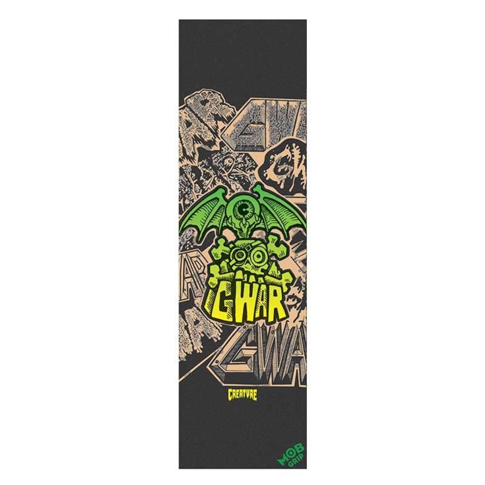 MOB MOB - Grip Tape Creature Gwar Clear