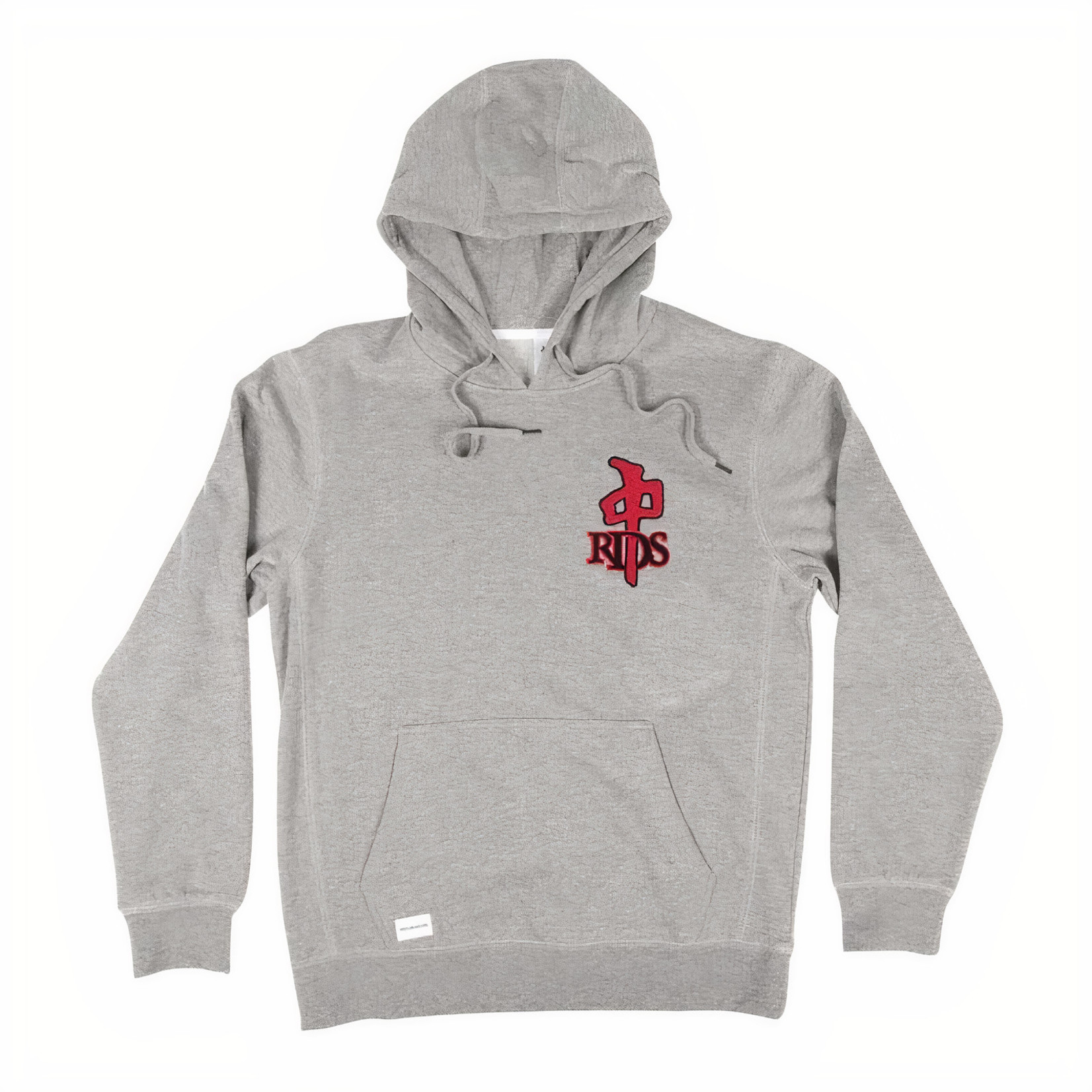 Red Dragon Apparel RDS - Hood Mini OG Chenille Grey/Red