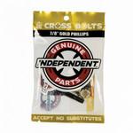 "Independent Independent - Phillips Truck Hardware - Black/Gold 7/8"""