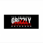 Grizzly Grizzly - XL Stamp Sticker Outdoors