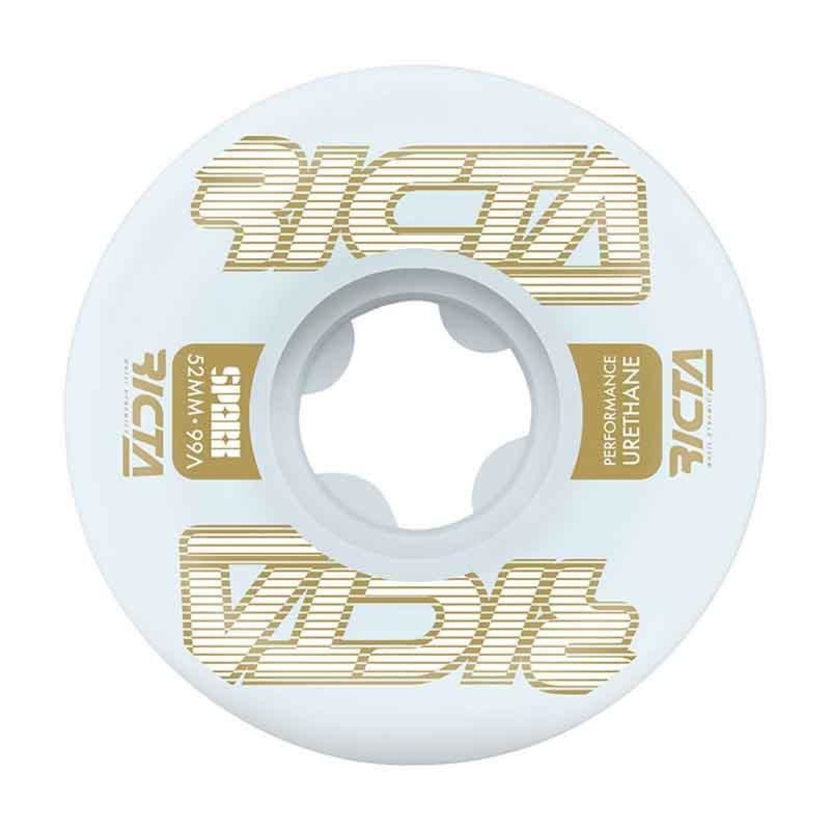 Ricta Ricta - Framework Sparx Wheels Gold - 99A 52mm