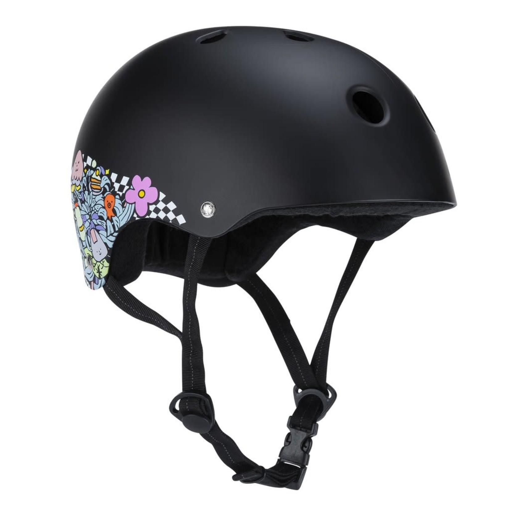 187 187 - Lizzie Armanto Helmet with Sweat Saver - Black