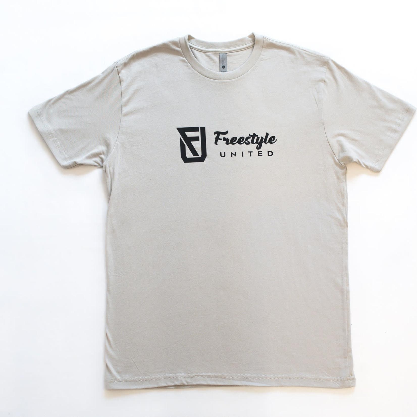Freestyle United Freestyle United - Adult OG T-shirt - Light Grey