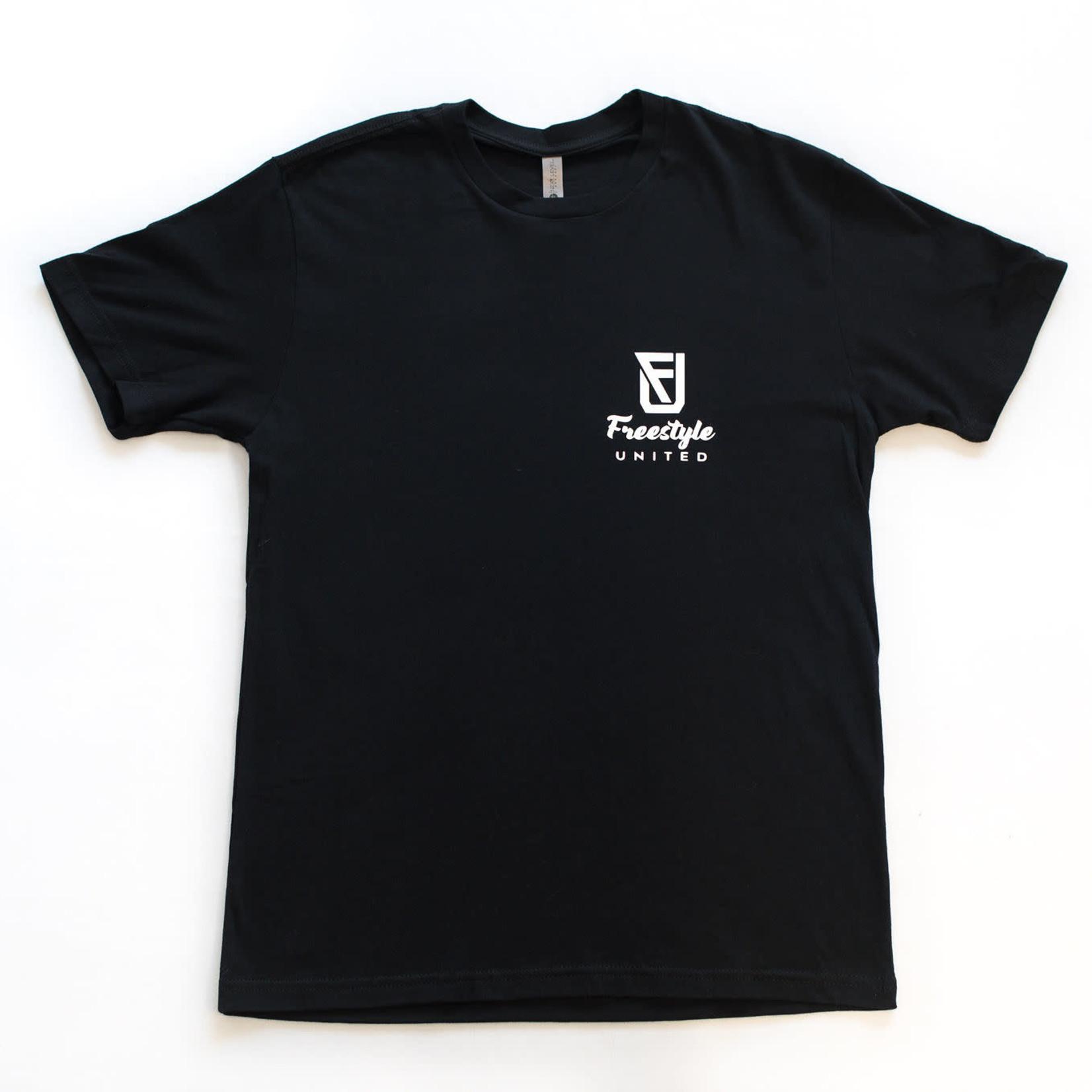 Freestyle United Freestyle United - Adult Signature T-shirt - Black