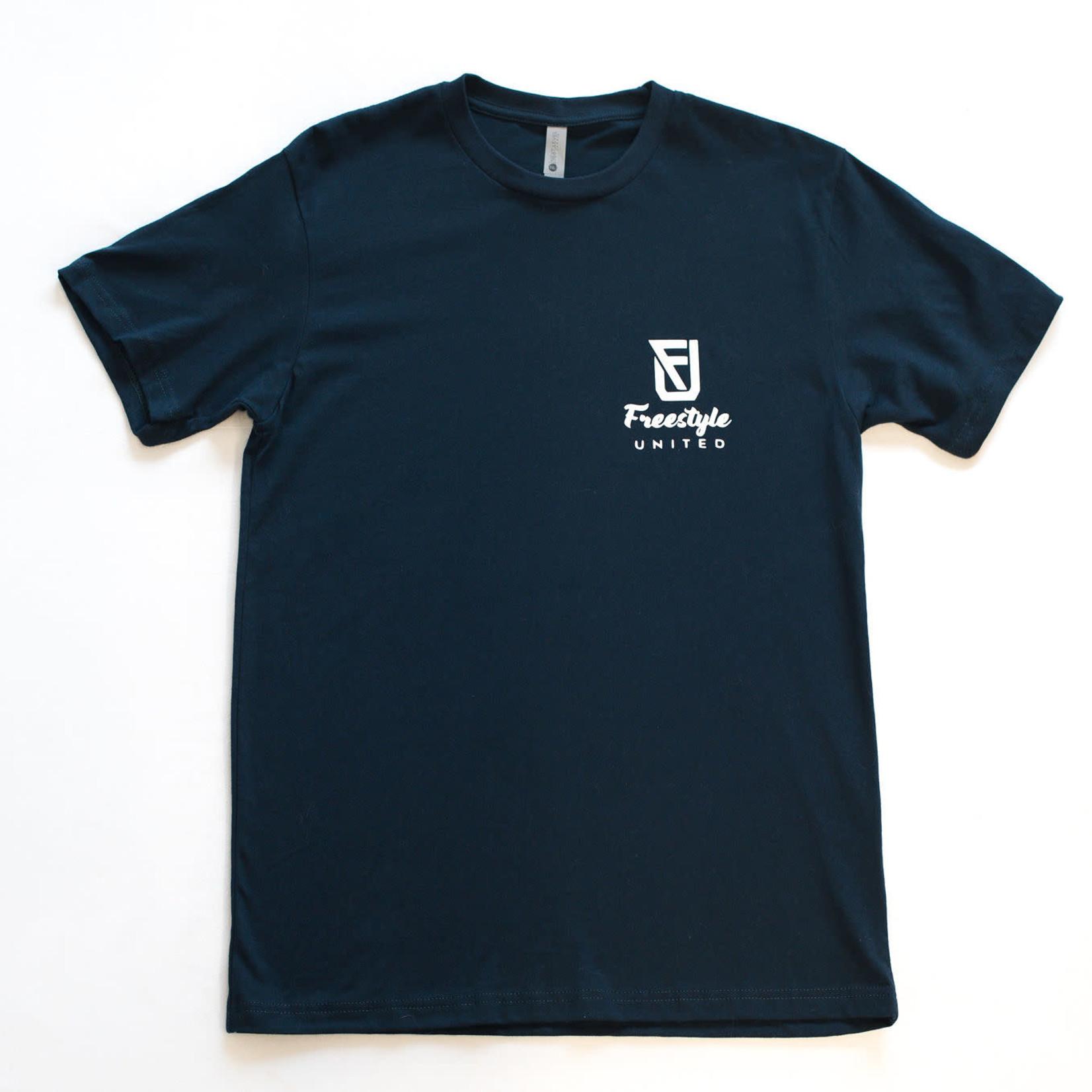 Freestyle United Freestyle United - Adult Signature T-shirt - Navy