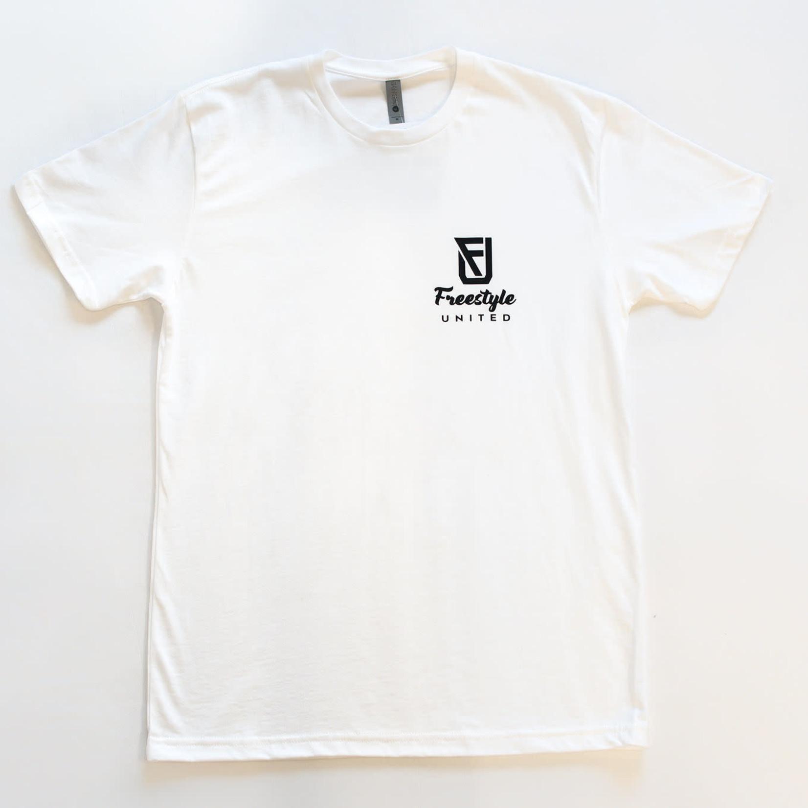 Freestyle United Freestyle United - Adult Signature T-shirt - White