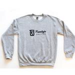 Freestyle United Freestyle United - Adult OG Crew Neck - Light Grey
