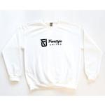 Freestyle United Freestyle United - Adult OG Crew Neck - White