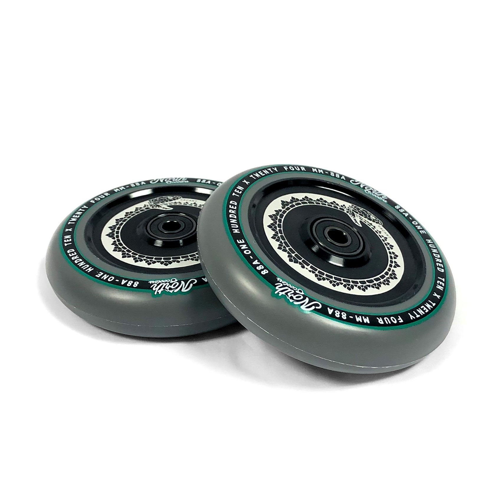 North North - Vacant Wheels - 110 x 24mm - Grey / Black