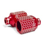 North - Honey Scooter Pegs - Red