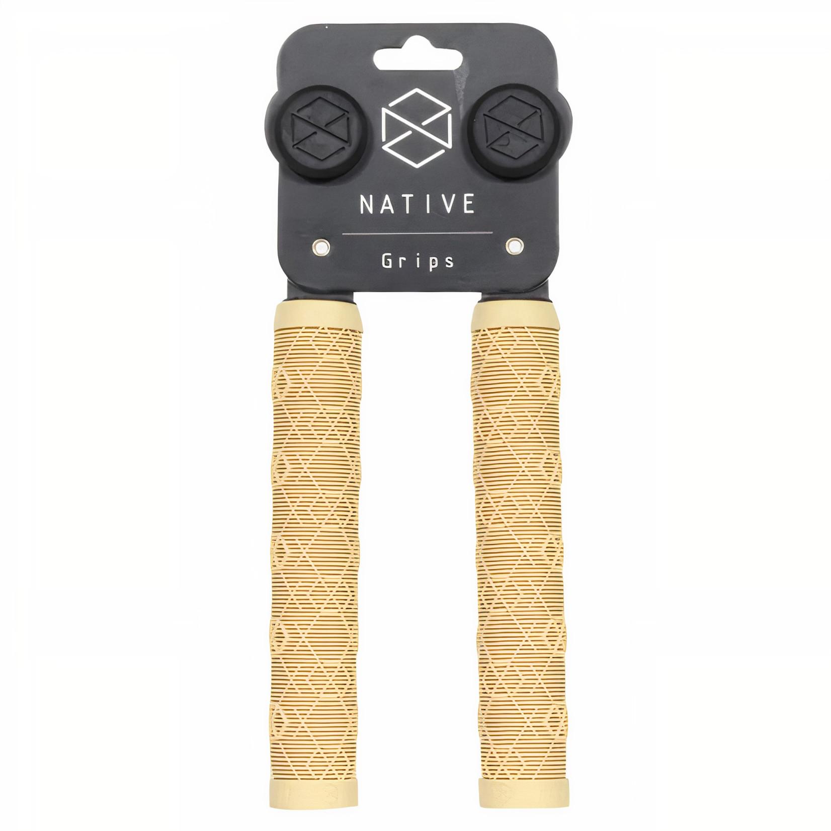 Native Native - Emblem Grips - Clay