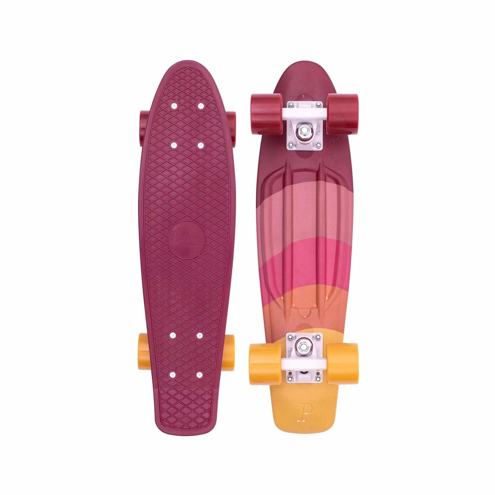 """Penny Penny Board - Complete Rise Maroon 22"""""""