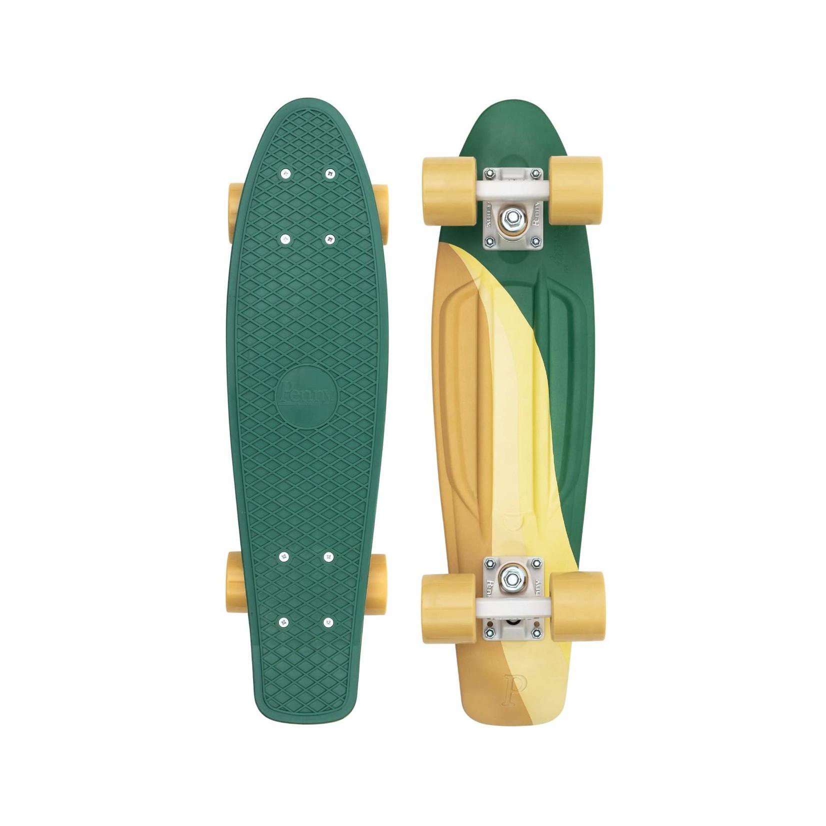 """Penny Penny Board - Complete Swirl Green 22"""""""