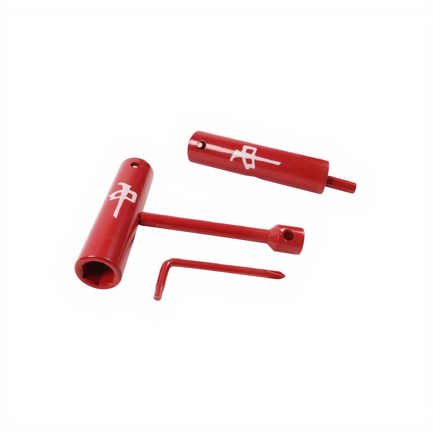 Red Dragon Apparel RDS - Skate Tool OG Logo - Red / White