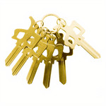 Red Dragon Apparel RDS - Chung Key Schlage - Gold
