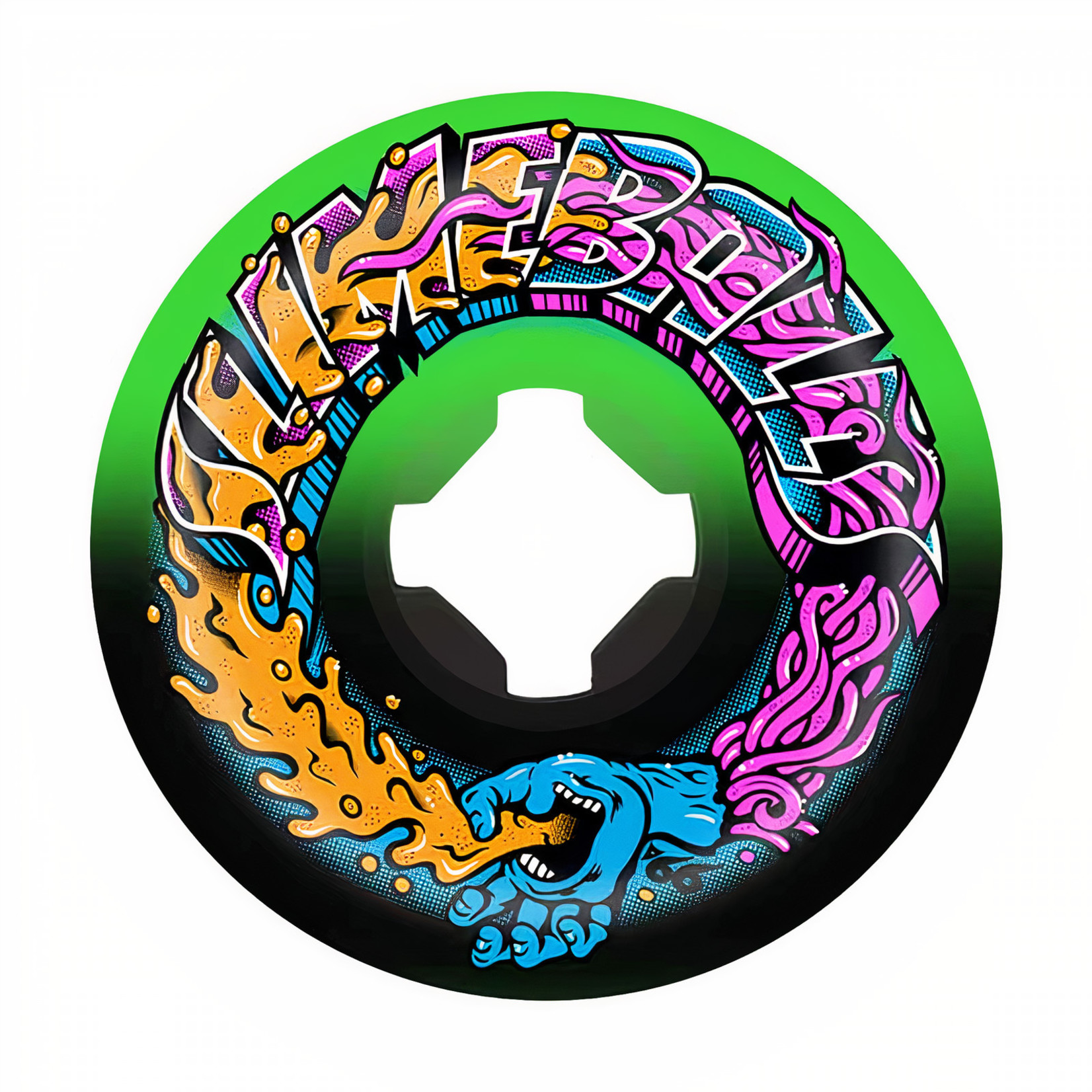Slime Balls Slime Balls - Wheels - 99a Greetings Speed Balls Green / Black 56mm