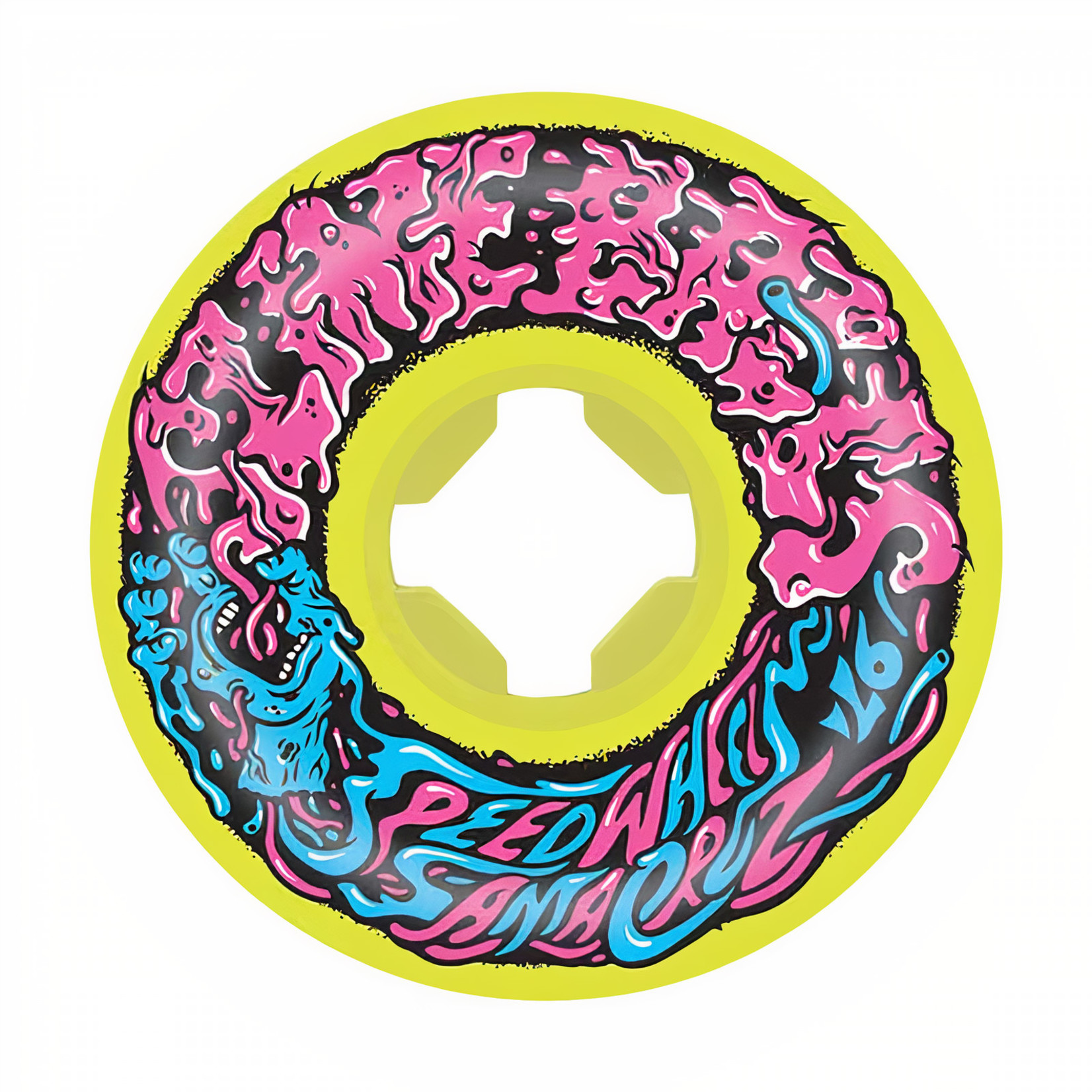 Slime Balls Slime Balls - Wheels - 97a Vomit Mini II - Yellow 54mm
