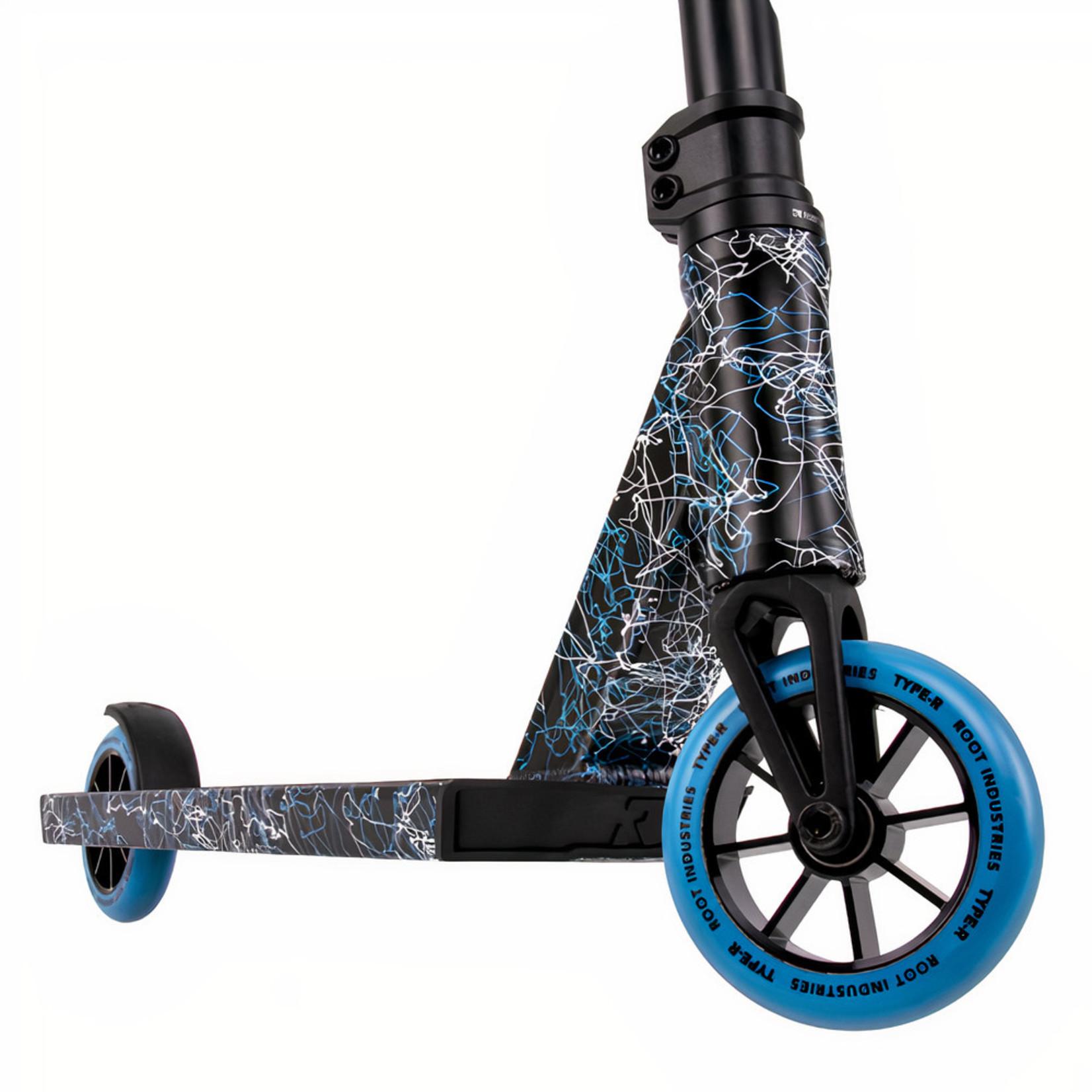 Root Industries Root Industries - Type-R Complete - Blue/Black/White Splatter
