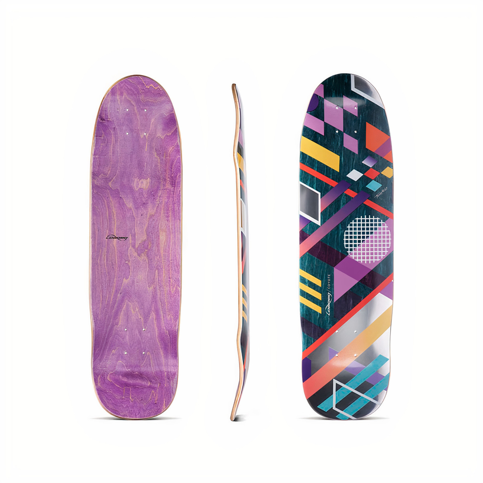 """Loaded Loaded - Coyote Deck 30.75 x 8.375"""""""