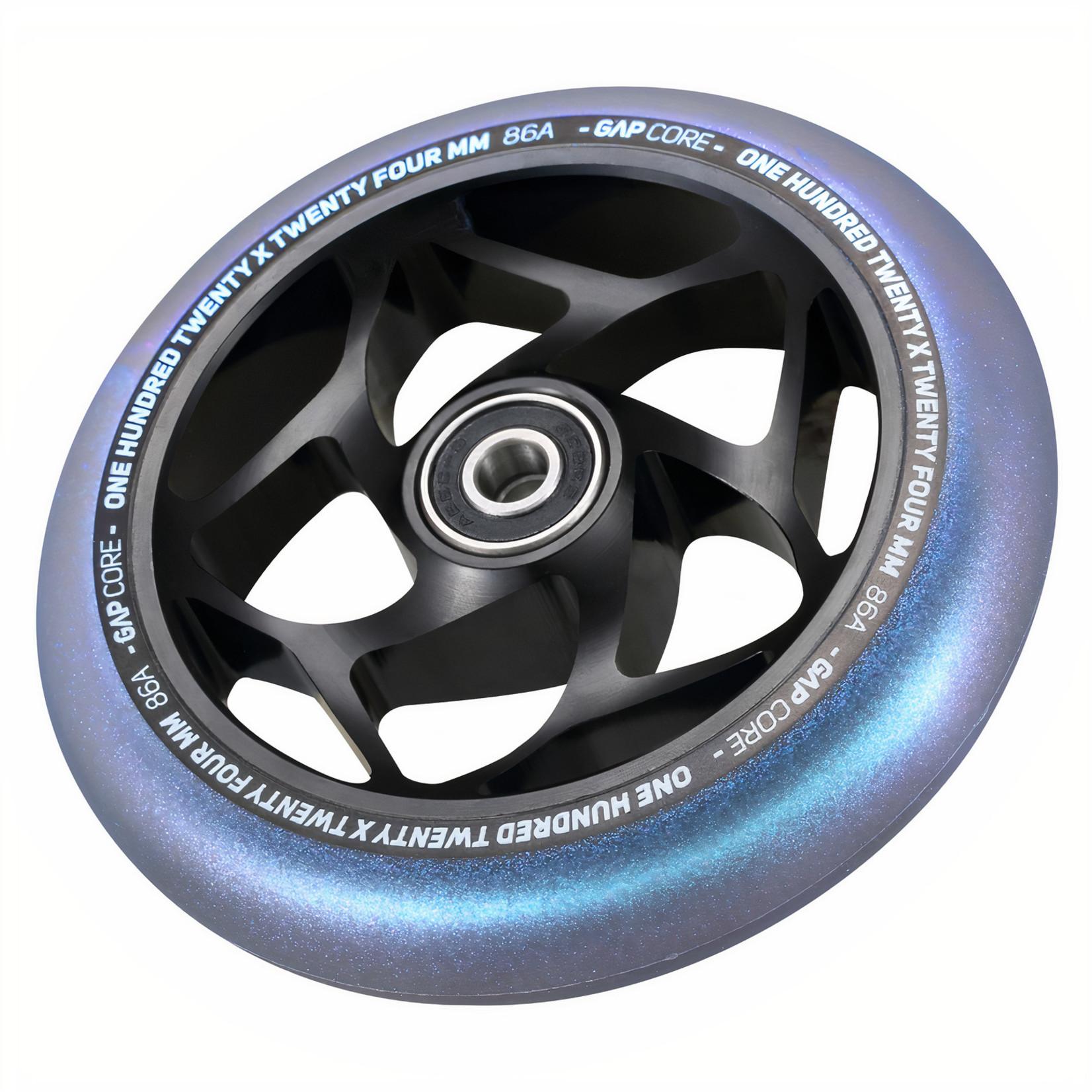 Envy Envy - 120mm Gap Core Wheel SINGLE - Black / Galaxy
