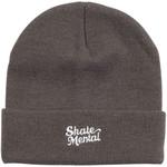 Skate Mental Skate Mental - Script Toque Logo - Grey