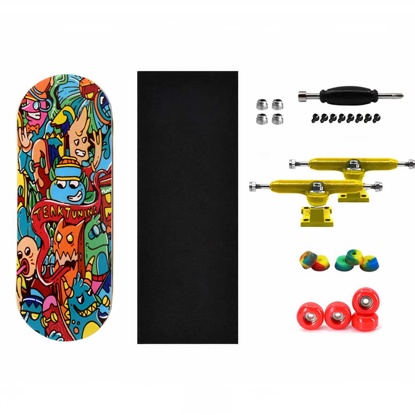 PROlific PROlific - Upgraded Fingerboard 32mm - Bubble Bushings and Monsters