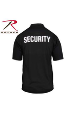 Rothco Rothco Moisture Wicking Polo Security Badge  S