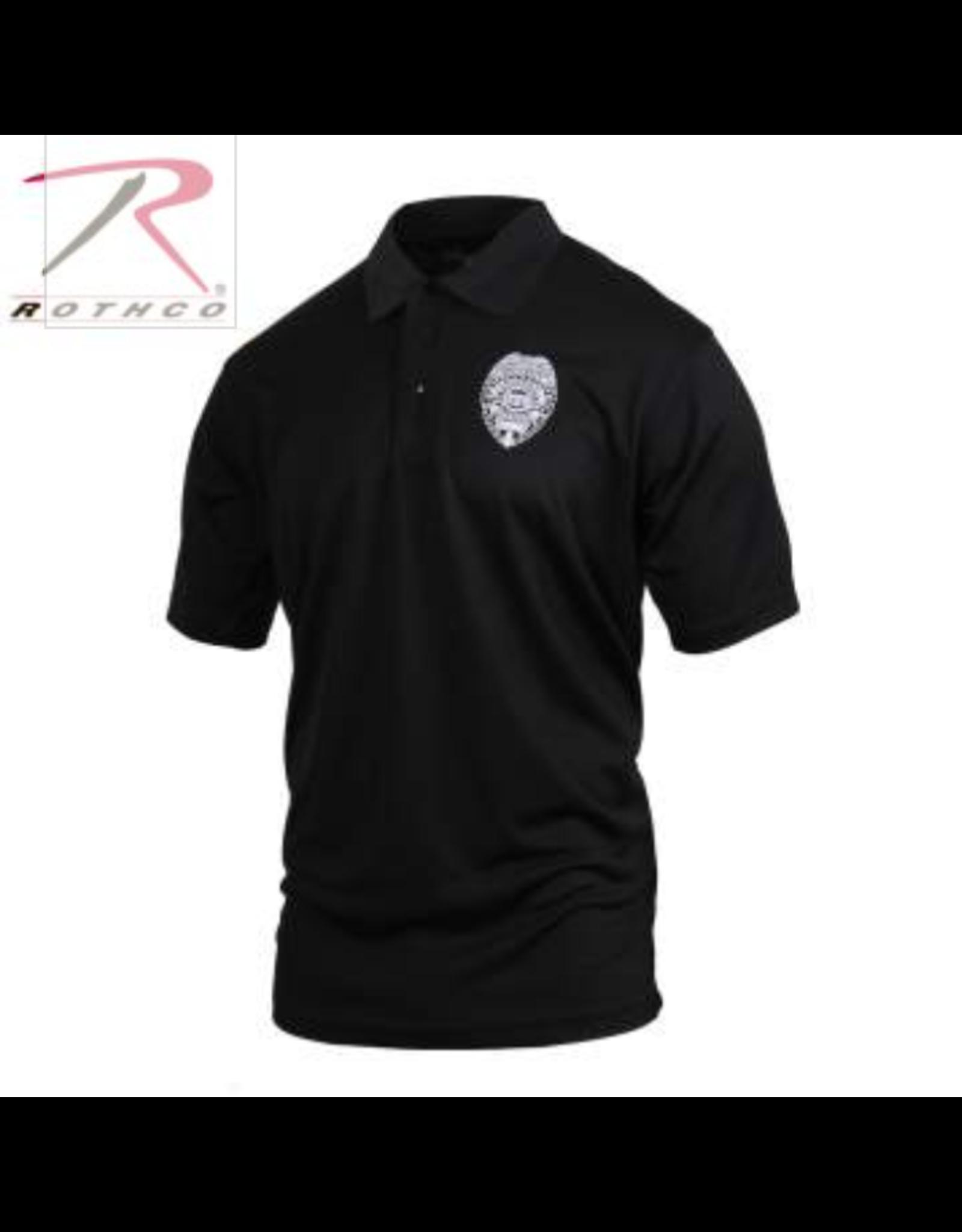Rothco Rothco Security Badge Moisture Wicking Polo Shirt S