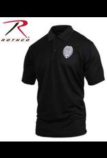 Rothco Rothco Moisture Wicking Polo Security Badge L