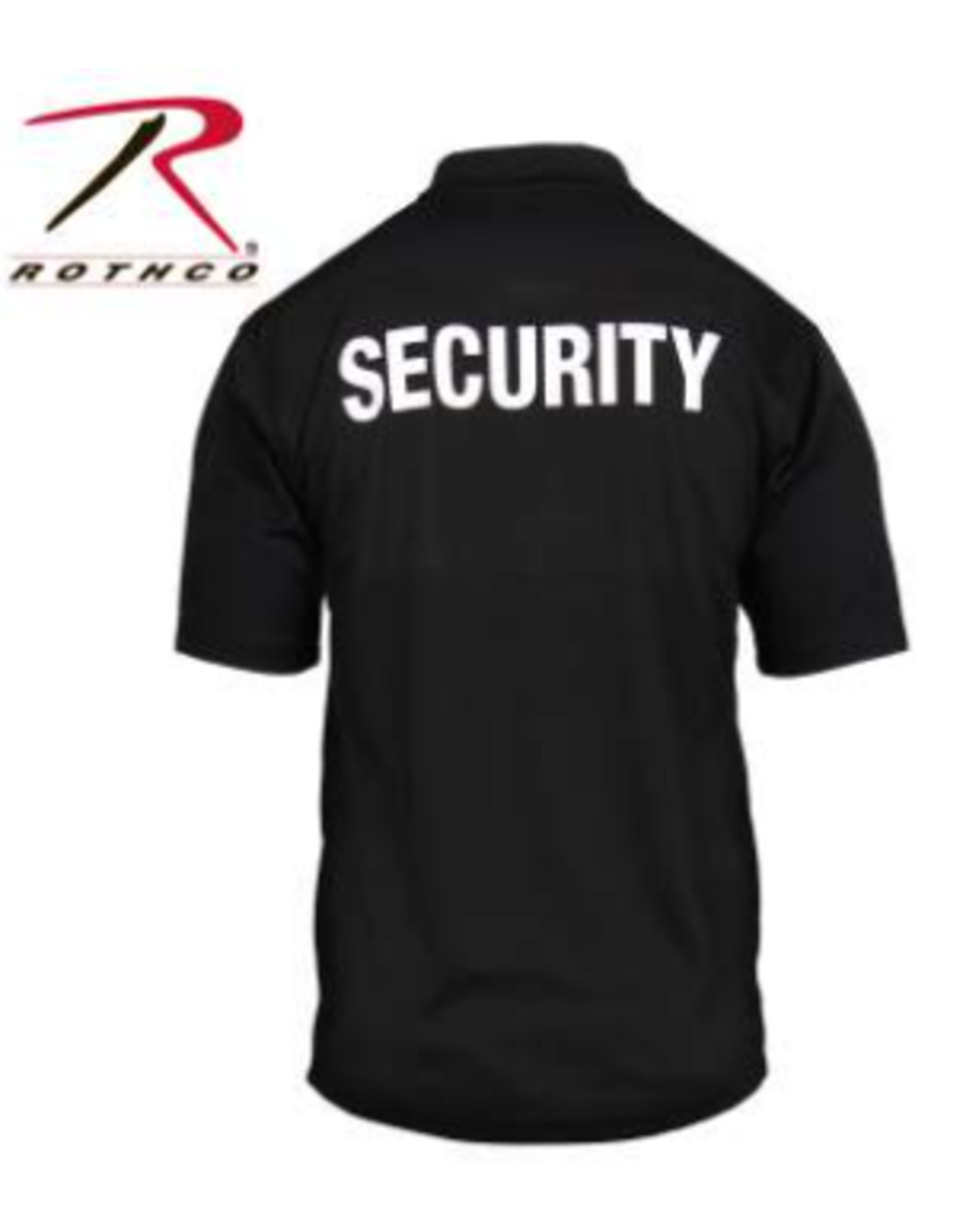 Rothco Rothco Moisture Wicking Polo Security Badge 2 XL