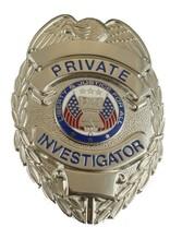 Hero's Pride Hero's Pride Private Investigator Badge, Traditional