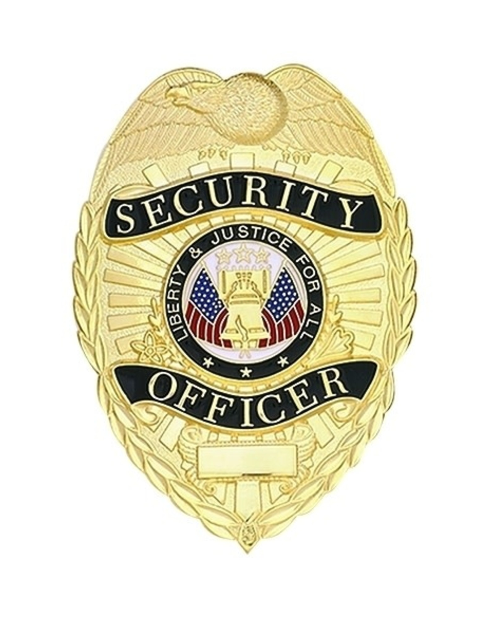 Hero's Pride Security Officer Gold with Black Traditional