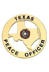 Hero's Pride Hero's Pride Star Texas Peace Officer - Gold